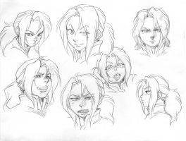 Face Poses by Maki-Ubermach