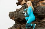 Zero Mission: Zero Suit Samus 5 by HayleyElise