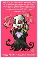 Voldemort, on Valentine's Day by Buuya