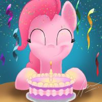 Happy Birthday Pinkie by TwinTailsInc