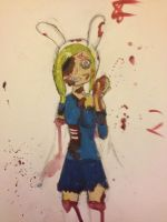 Zombie Fionna by WhatTheFundip