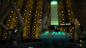 9th/10th Doctor's TARDIS interior by Davros-the-2nd