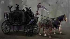 Death's Carriage by psypher101