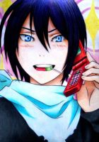 Yato (Noragami) by Reyos-Cheney