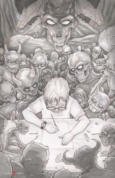 The Boy Who Drew Monsters by ChrisOzFulton