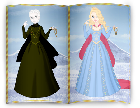 Snow Queen collection - Pale Maiden by Arrelline