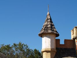 rooftop turret sort of by Irie-Stock