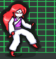 Kabuki Quantum Fighter by MirandaMaija