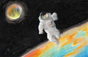 Floating In Space by high-fructose