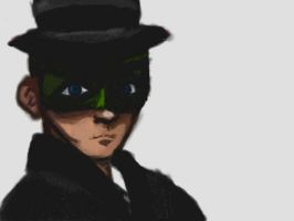 The Green Hornet omg by cellytron