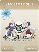 Kamisama Dolls V2 - Anime Icon by Zazuma