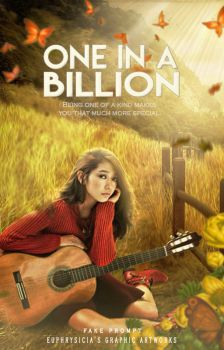 One in a billion (Wattpad Book Cover) by Euphrysicia