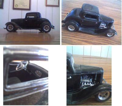 1934 Ford Hot Rod by Purgatorywolf