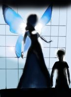 Blue Fairy and David by mysterio1274