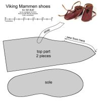SD BJD Viking Mammen shoes by scargeear