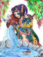 :Zodiacal: Aquarius by Clytemnon