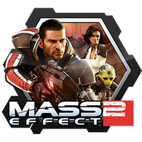 Mass Effect 2 Honeycomb Icon by RazzGraves