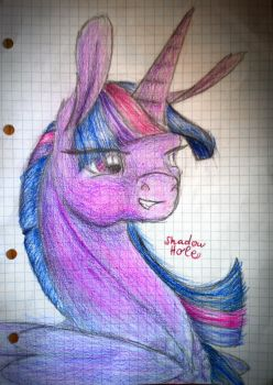 Twilight Portrait coloured by 2ShadowHole