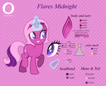 Flares Midnight Color Guide 2015 by shaynelleLPS