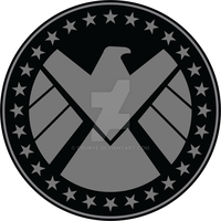SHIELD Winter Soldier Sleeve Patch Logo by cbunye