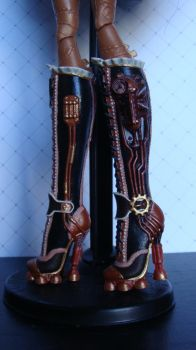 Robecca boot repaint by PoisonGirlCustoms