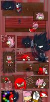 Sonic Comic - Tame The Beast piece by Tri-Jean