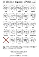 DP: 25 Expressions by Donteatacowman