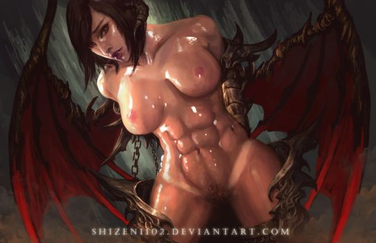 Succubus Captured [uncensored] by shizen1102