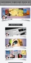 Facebook Timeline Pack #2 by frozencolor