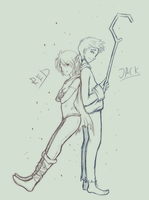 Red and Jack by Alcira