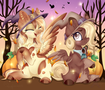 Heavenly Hazelnut and Elixir Ripple by Silent-Shadow-Wolf