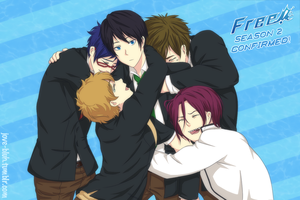 Free - Swimming Anime gets New Season by feshnie