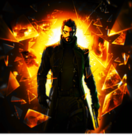 Adam Jensen: Augmented Warrior by OvidOnTheRun