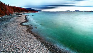 Flathead Lake IR by NickSpiker