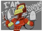 I AM IRON MAN by NeoSlashott