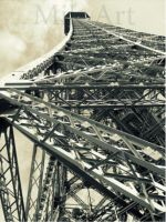 Tour Eiffel by photomik-art