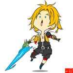 Tidus Dissidia by Witchking00