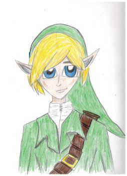 Link [Legend of Zelda FANART] by xxitscarriexx