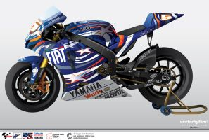 Colin Edwards' YZR-M1 by vectorhythm