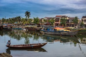 Hoi An Riverfront by cwaddell