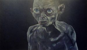 Gollum - Lord of the Rings (II) by Alisssvic