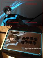 Nightwing Madcatz TE by virak