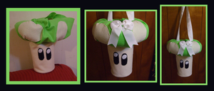 1UP ::Purse for Princess Peach Cosplay by Prepare-Your-Bladder