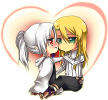 AoH- Aion and Asher by Arcanas-Romantica