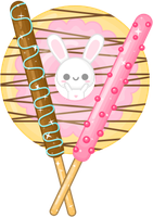 Pocky Bunny by sugarlette