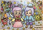 Tanabata Ken and Miyako by dengekipororo
