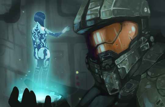 Master Chief Commission by IdentityPolution
