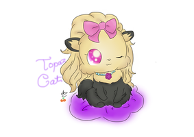Topaz - Chan Original w/o BG by chichicherry123