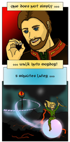 One does not simply... by Ryanis