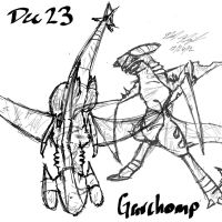 Dec 23 - Coolest Design GARCHOMP by ArwingPilot114